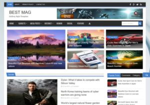 Best Mag Blogger Template